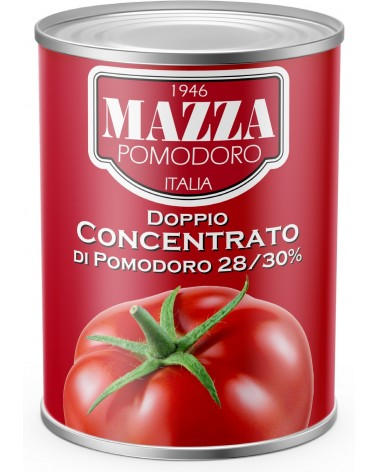 Double concentrate 28/30 brix tomato paste kg 4.5