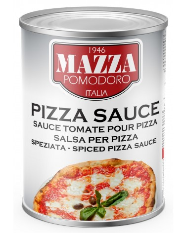 Spiced pizza sauce 10/12 brix kg 4.10