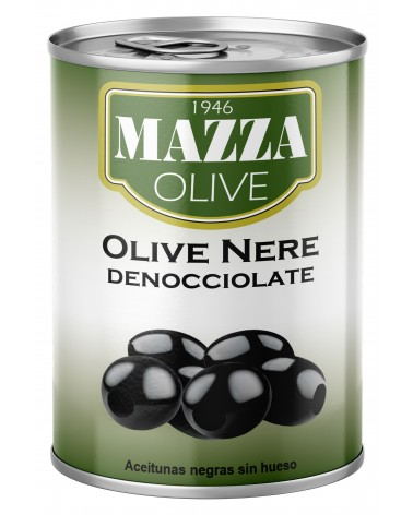 Pitted black olives Gr. 397