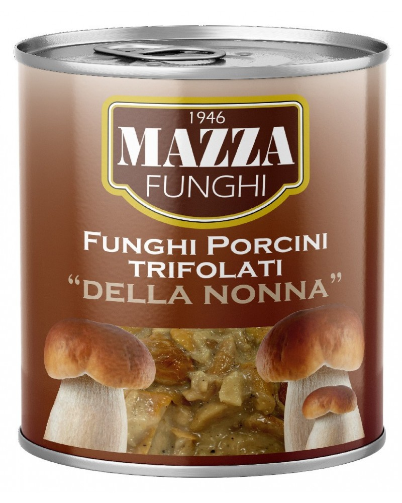 "Flavoured Porcini Mushrooms with cream ""della Nonna"" Lt. 1/0800/70%"