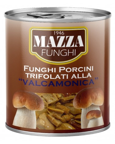 "Flavoured Porcini Mushrooms ""alla Valcamonica"" Lt. 1/0780/65%"