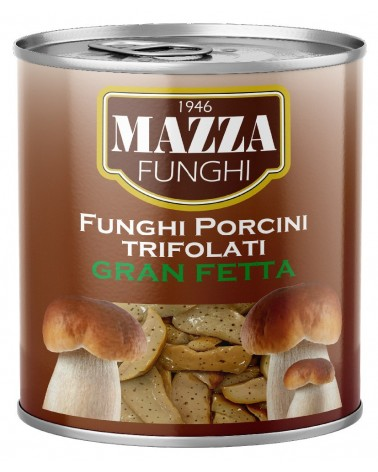 "Flavoured Porcini Mushrooms ""Gran Fetta"" Gr 790"