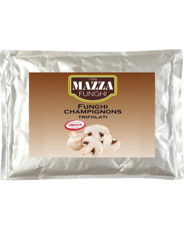 Flavoured sliced champignons in bag kg 1.7