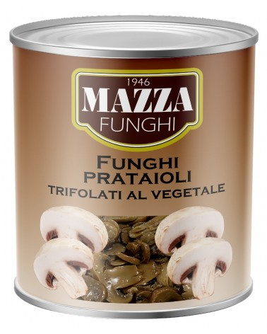 Flavoured champignons in vegetable sauce Gr. 2500