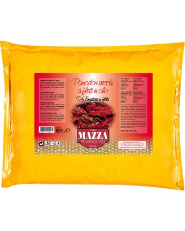 Sun-dried tomatoes fillets in bag kg 1.85