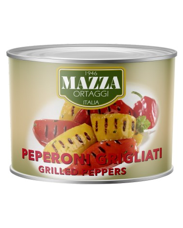 Grilled peppers in sunflower oil kg 2