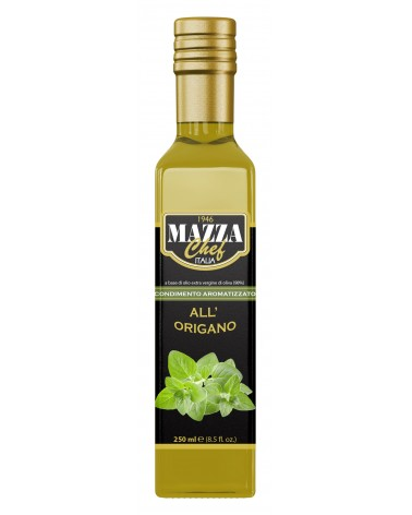 "Extra virgin olive oil with oregano ""Marasca"" ml 250"