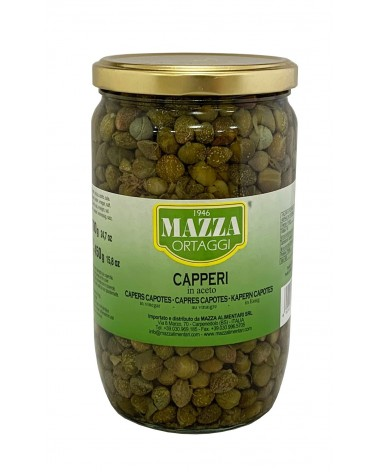 Capers in vinegar pot ml 720