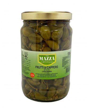 Capers Berries in vinegar pot 1700 ml