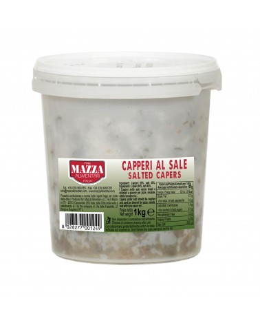 Capers in salt kg 1