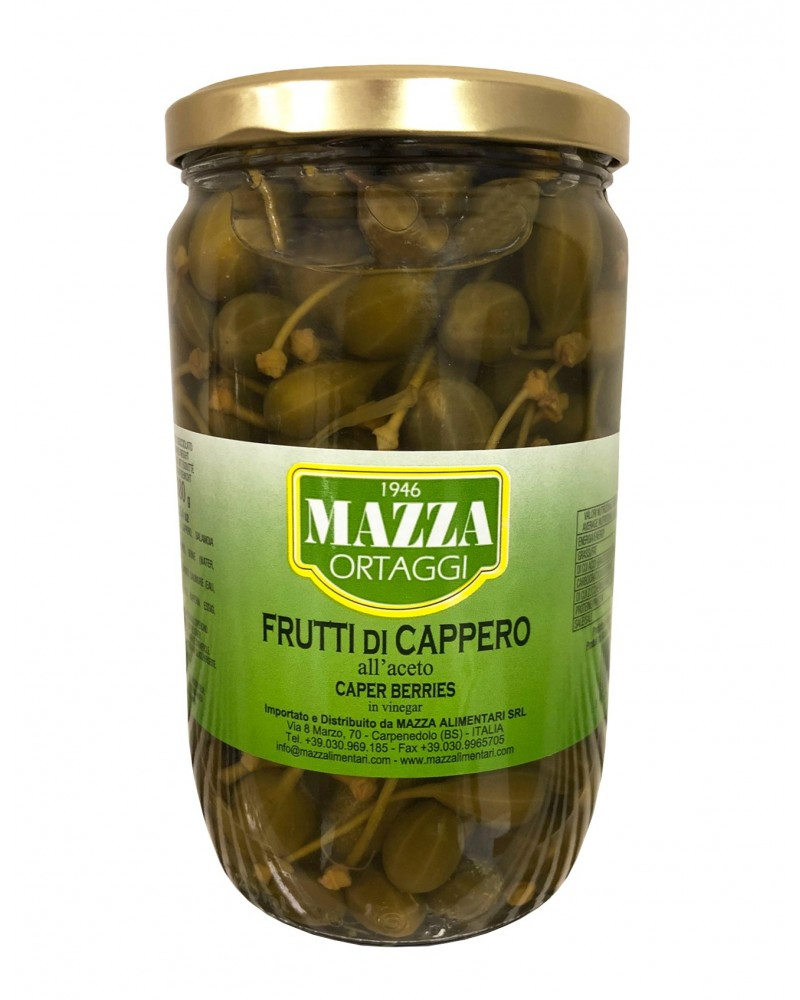 Capers berries in vinegar pot ml 720