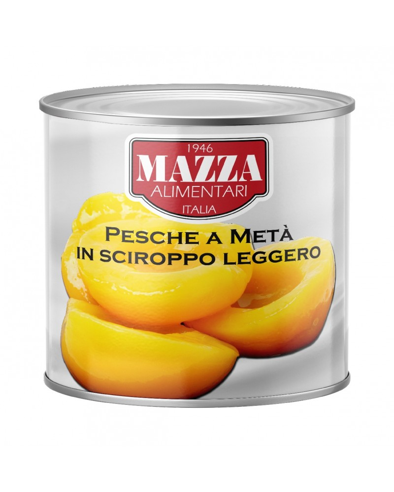Sliced peaches in light syrup 3/1
