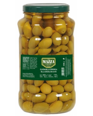 Big green olives CERIGNOLA ml 3100