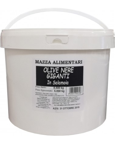 Black Giant pickled Greek olives kg 8.50 Net weight