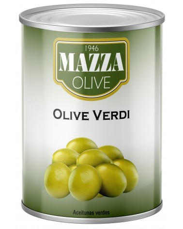 Green olives tin 3-A/9