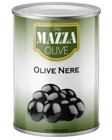 Black olives tin 3-A/9