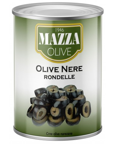 Sliced black olives tin 3-A/9