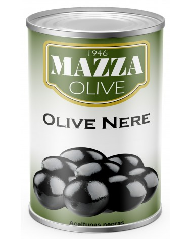 Black olives tin 5/1